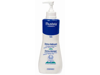 Mustela Бебешки дермопочистващ гел за коса и тяло 200 мл. 8190/5657